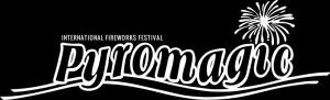 Logo pyromagic fond noir