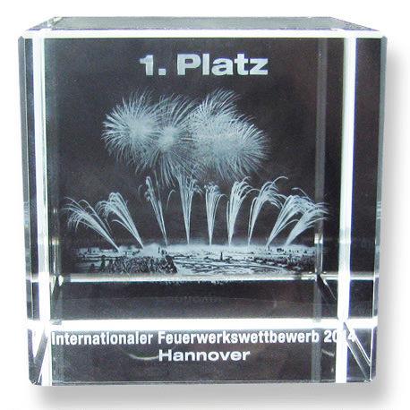 1. Platz Internationaler Feuerwerkswettbewerb 2014